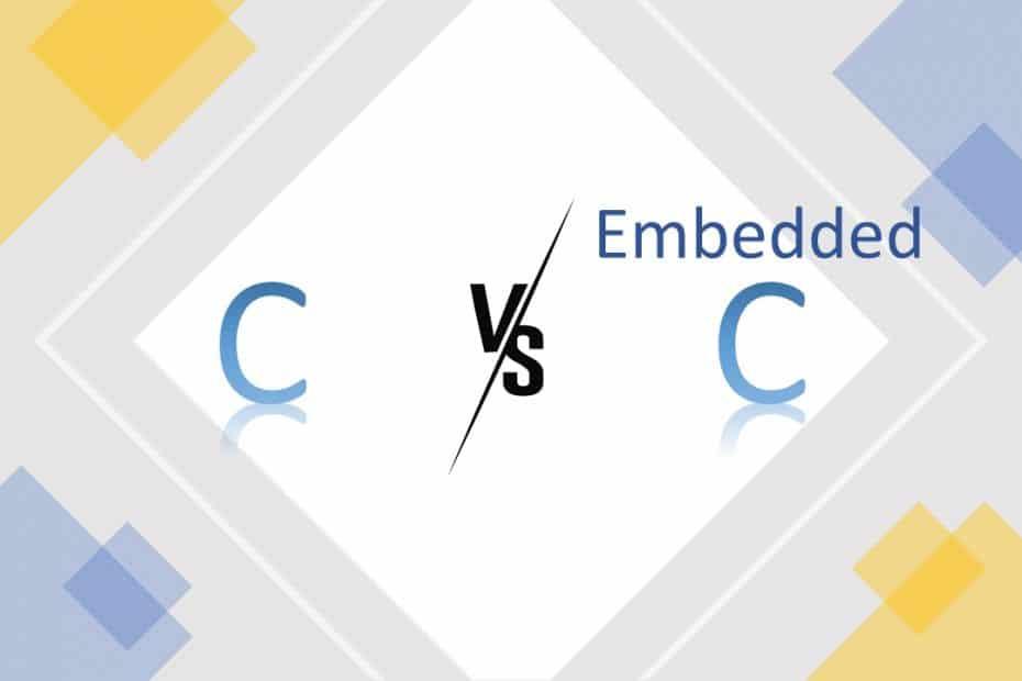 C vs Embedded C