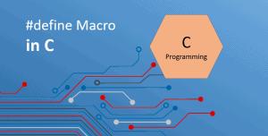 #define macro in c