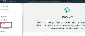 Create AWS IoT Rules