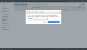 Amazon Simple Email Service aws_verify_email
