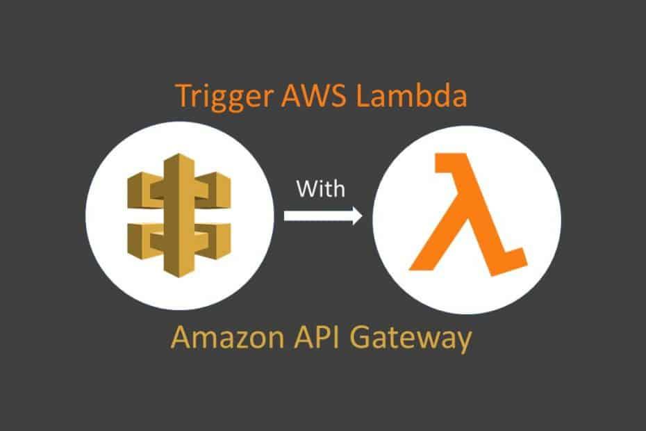 trigger aws lambda with amazon api gateway